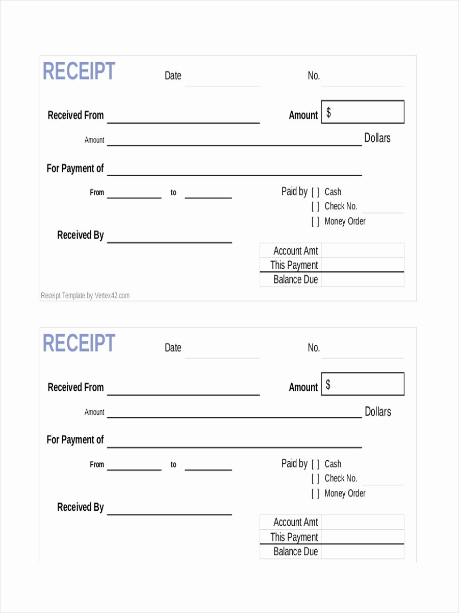 Sample Receipt for Cash Payment New Free 10 Payment Receipt Examples & Samples In Google Docs