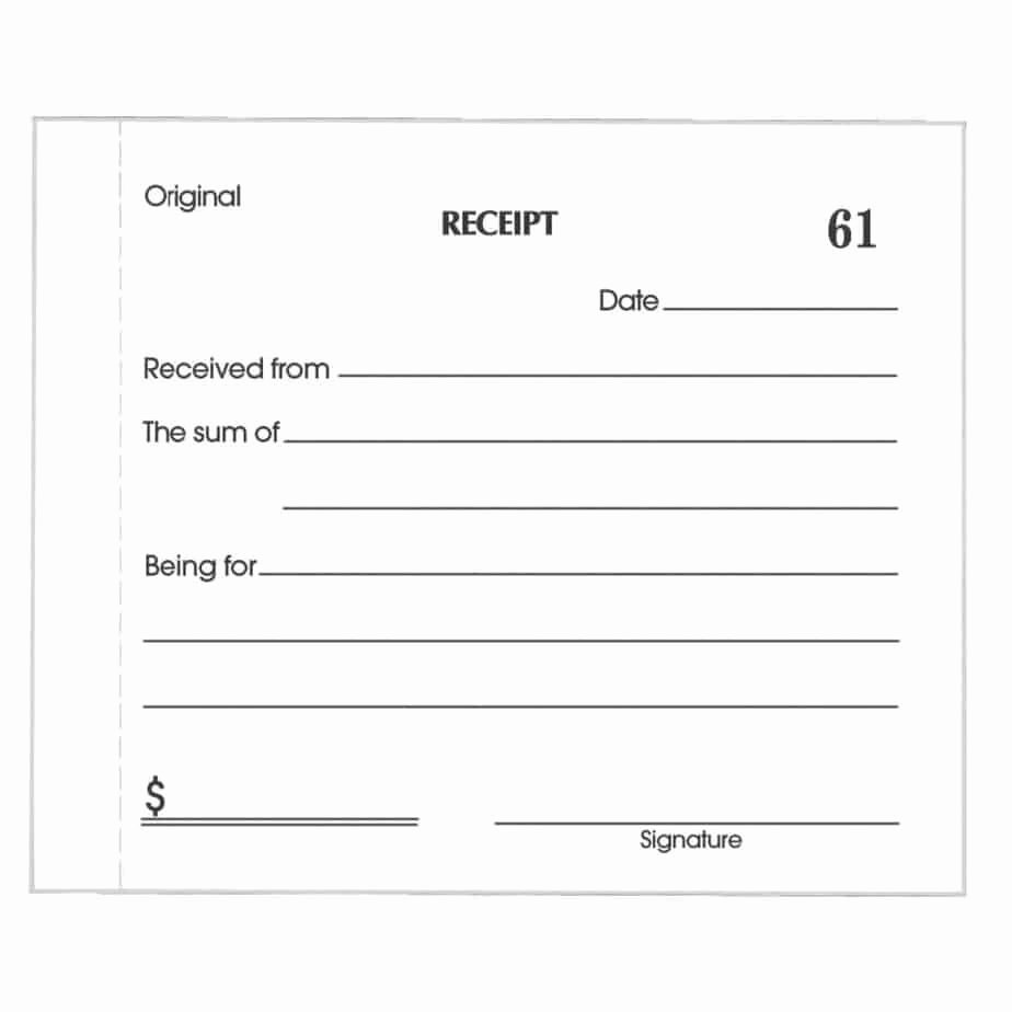 Sample Receipt for Cash Payment Unique 5 Cash Receipt Templates Excel Pdf formats