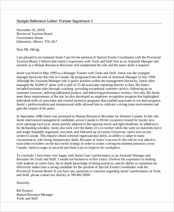 Sample Recommendation Letter for Coworker Best Of Sample Reference Letter for Coworker Examples In Pdf Word
