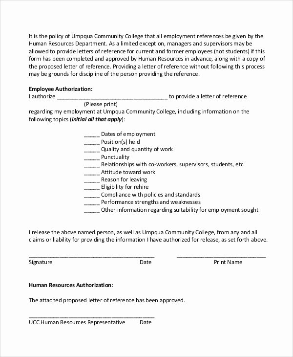 Sample Reference Letter for Employee Unique Sample Employee Reference Letter 5 Documents In Pdf Word
