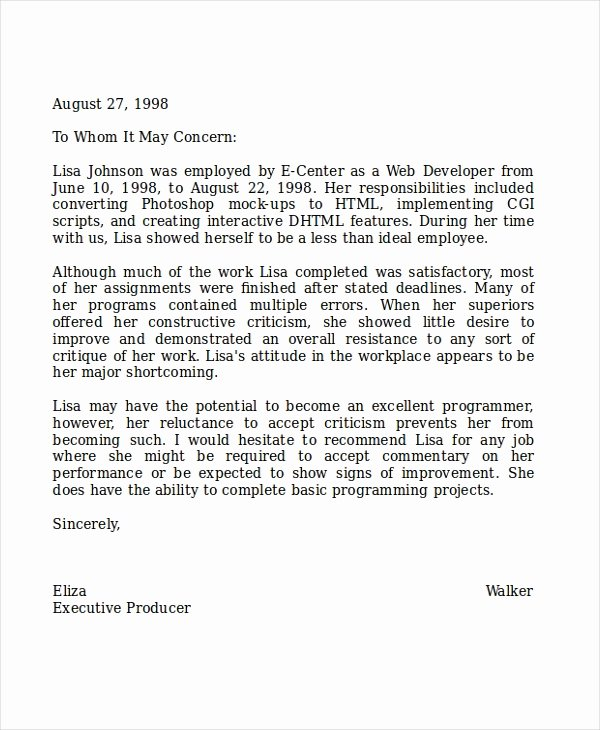 Sample Reference Letters for Teachers Awesome 8 Reference Letter for Teacher Templates Free Sample