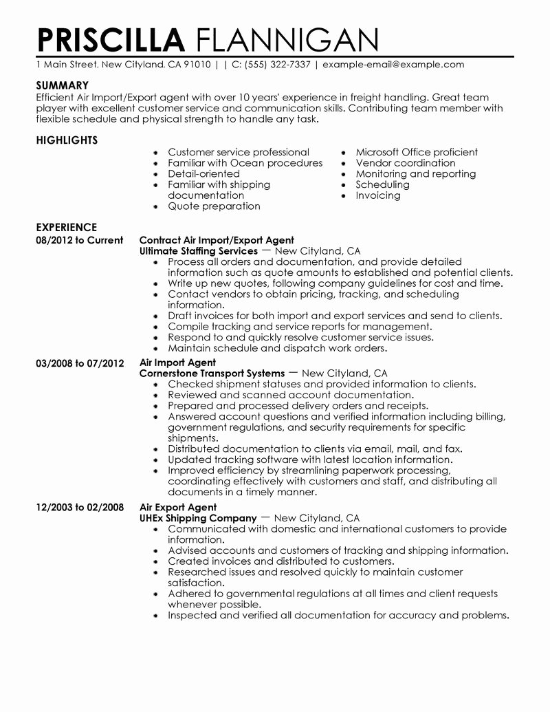 Sample Resume for Federal Job Beautiful 7 Amazing Government & Military Resume Examples