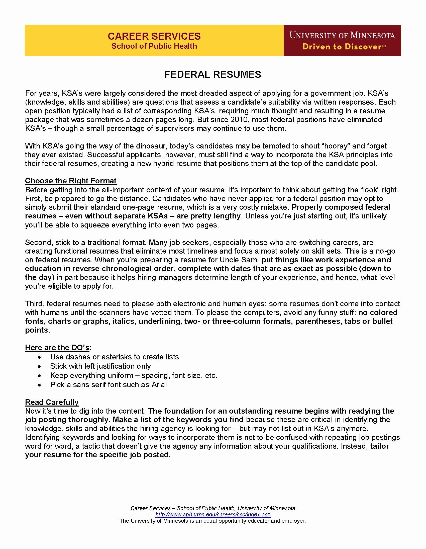 Sample Resume for Federal Job Luxury Federal Resumes Page 1 Resume Guide