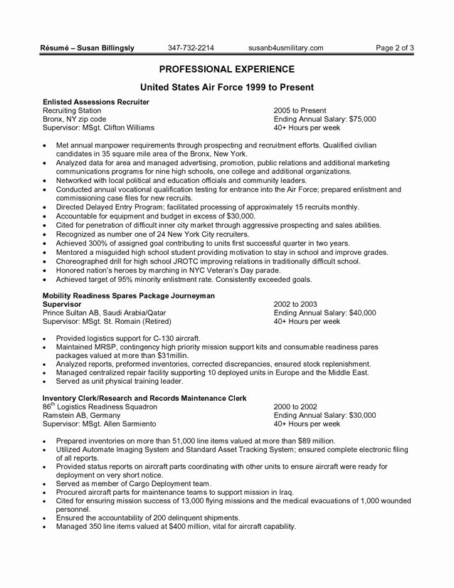 Sample Resume for Federal Jobs Lovely Best Government Resume Samples are You Thinking About