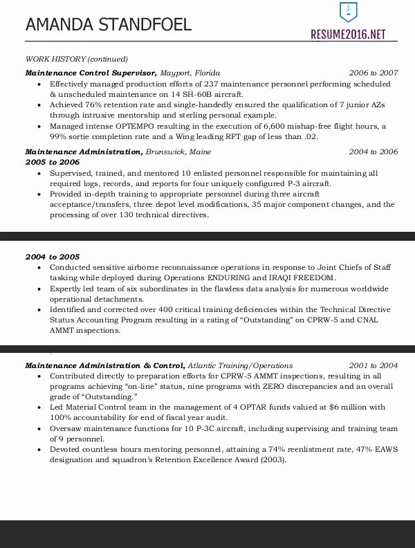 Sample Resume for Federal Jobs Unique Federal Resume Template