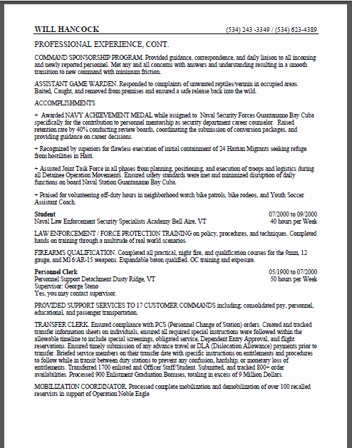 Sample Resumes for Federal Jobs Lovely Sample Resume for Usajobs
