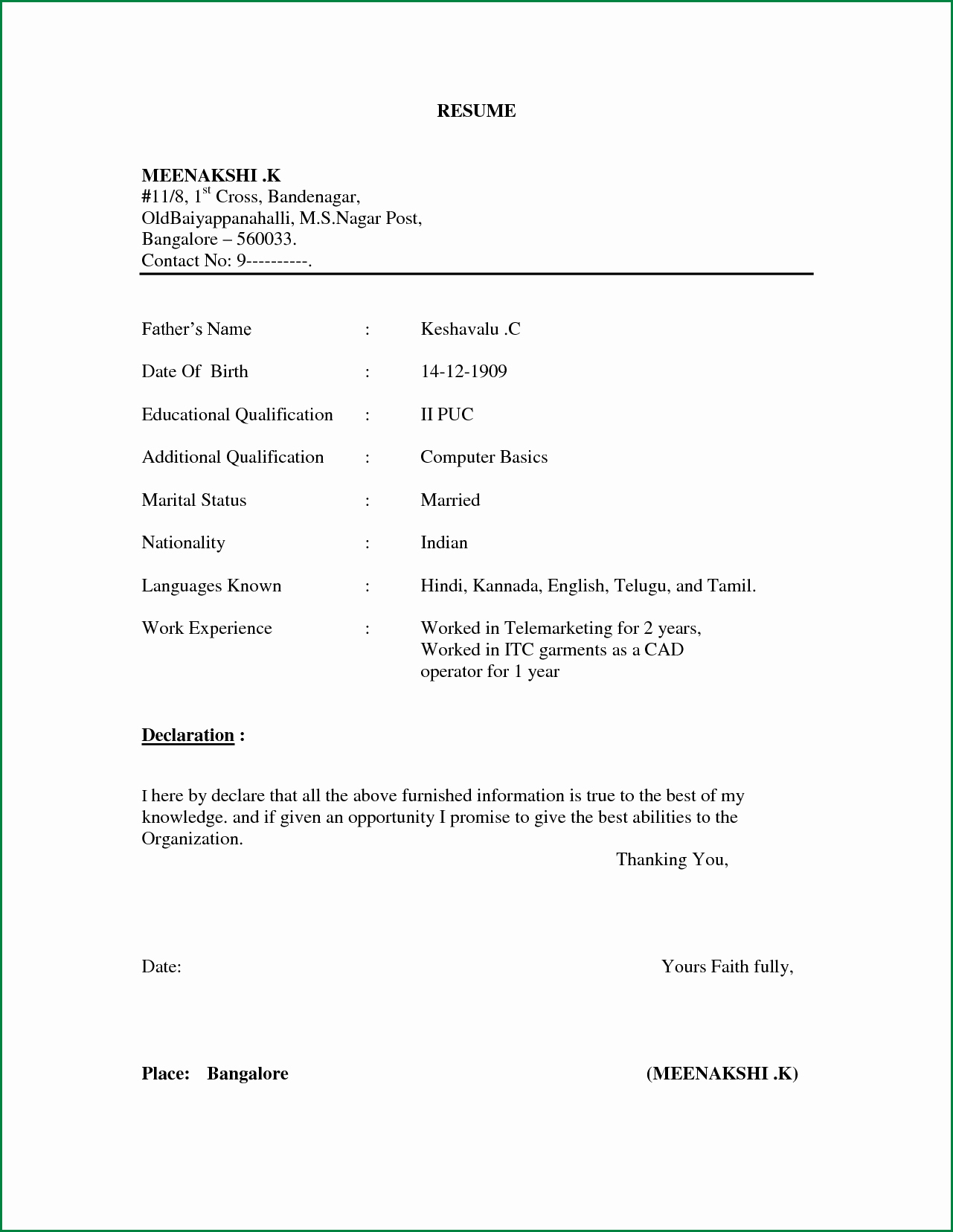 Sample Resumes In Word Best Of Pin by Mukesh Kaushik On Worded