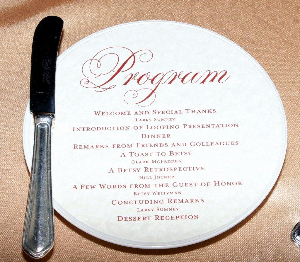 Sample Retirement Party Program New Program for Retirement Party … Celebrate