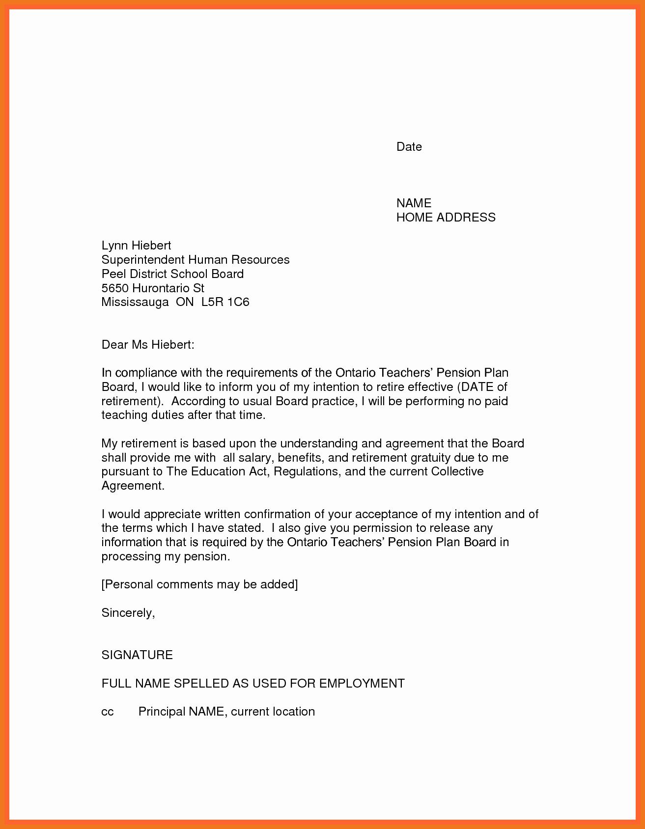 3 4 letter of resignation teaching
