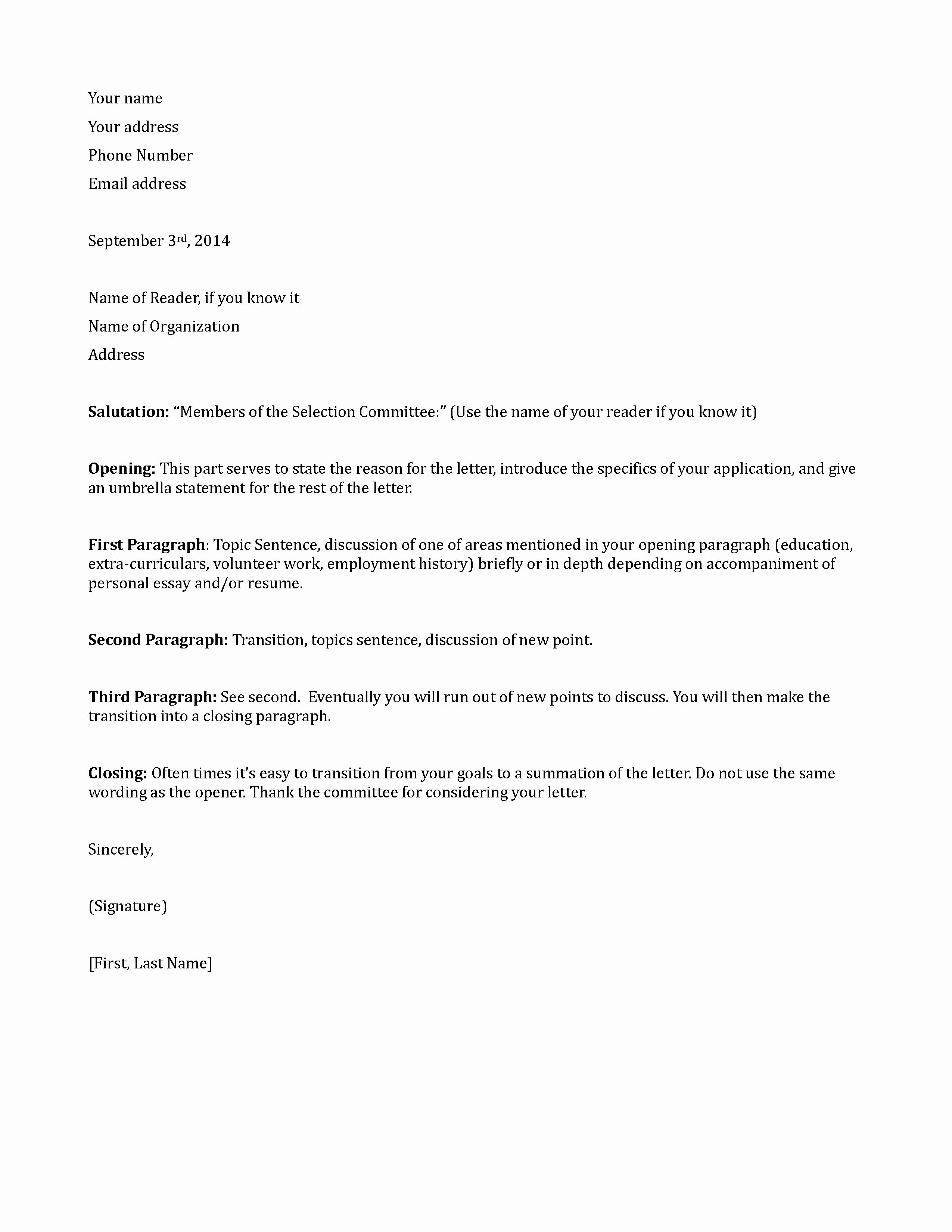 Sample Scholarship Application Letter Unique Letter Application Letter Application for Bursary