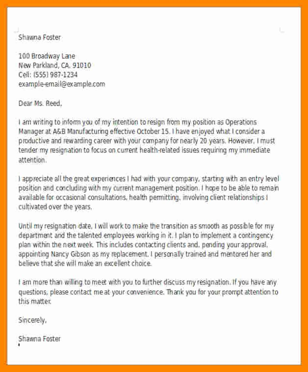 Sample Teacher Retirement Letter Unique 7 Retirement Resignation Letter Example