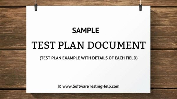 Sample Test Case Document Awesome Sample Test Plan Document Test Plan Example with Details