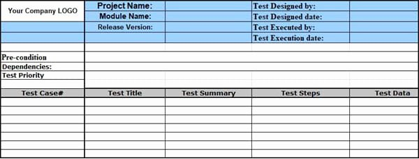 Sample Test Case Document Fresh Sample Test Case Template with Test Case Examples [download]