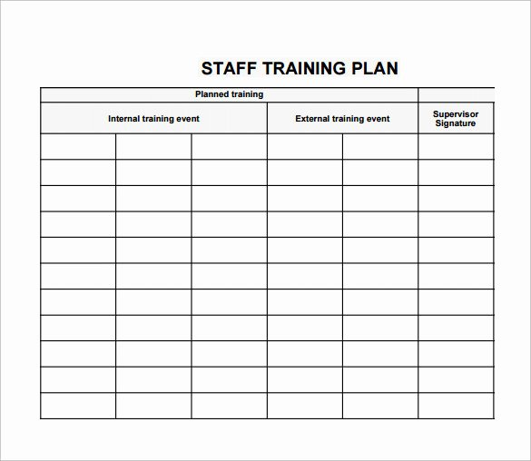 Sample Training Plan Outline Awesome 20 Sample Training Plan Templates to Free Download