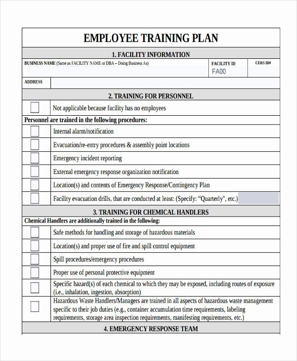 Sample Training Plan Outline New 14 Training Plan Examples & Samples In Pdf