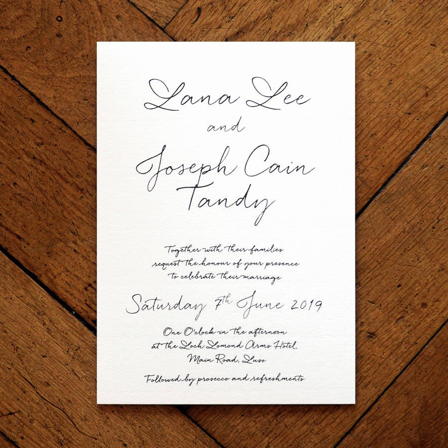 Sample Wedding Welcome Letter Awesome Love Letter Wedding Invitation Set and Save the Date by