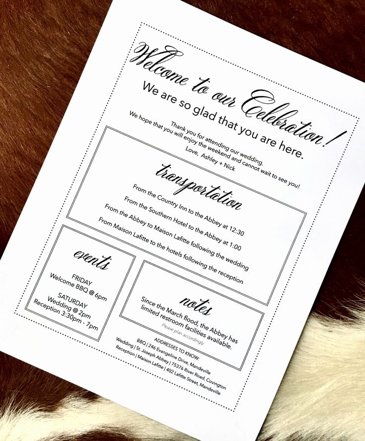 Sample Wedding Welcome Letter Elegant Best 25 Wedding Wel E Bags Ideas On Pinterest