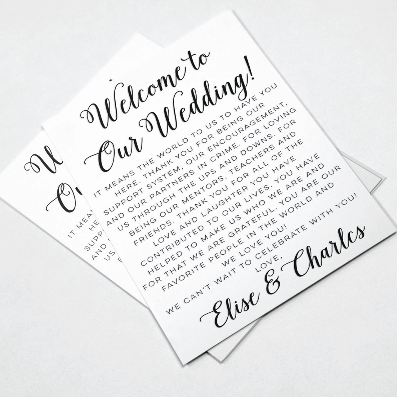 Sample Wedding Welcome Letter New Wedding Wel E Letters Wedding Itineraries Wedding Wel E