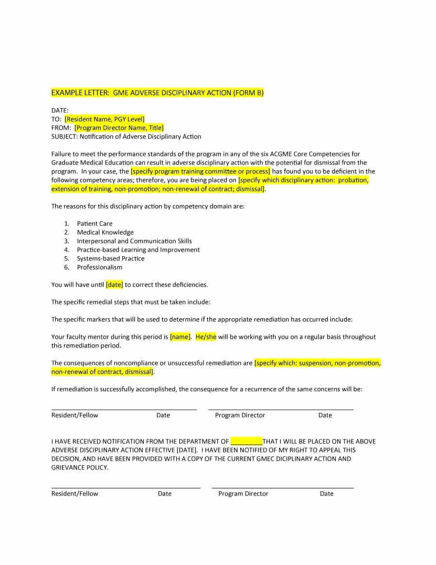 Sample Write Up for Employee Beautiful 46 Effective Employee Write Up forms [ Disciplinary