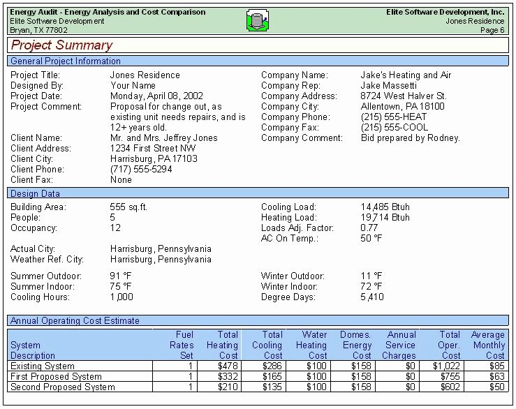 Samples Of Audit Report Awesome Energy Audit Sample Reports
