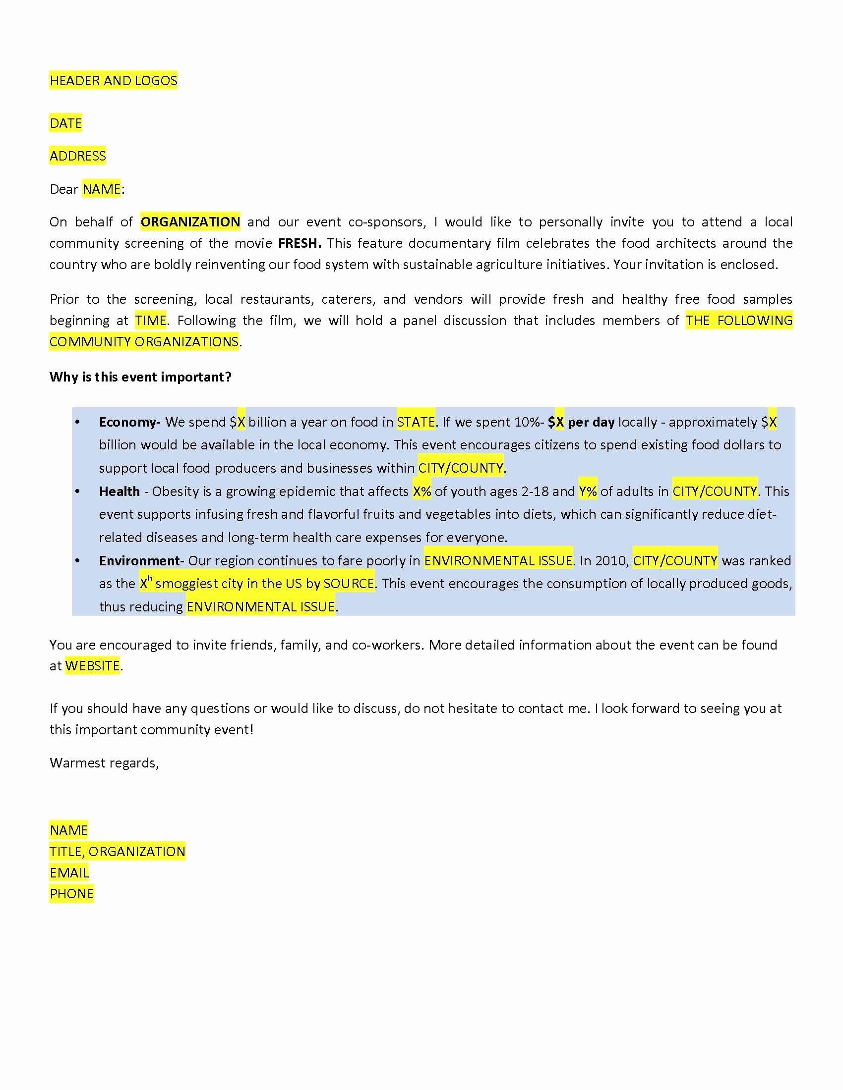 Samples Of Invitation Letters Elegant Sample Invitation Letter Invitation Letters for Allvisa