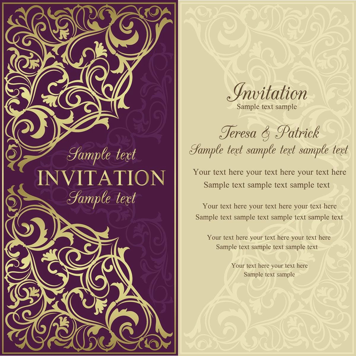 Samples Of Invitation Letters Unique Invitation Letter Sample