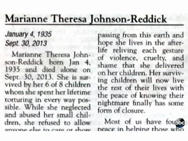 Samples Of Obituaries for Mother Best Of Scathing Obituary Be Es Internet Sensation