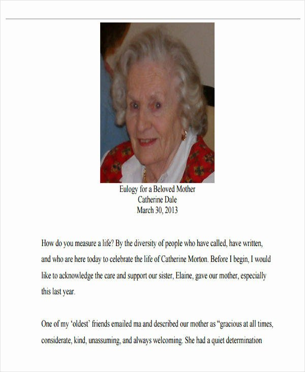 Samples Of Obituaries for Mother Elegant 34 Sample Obituary