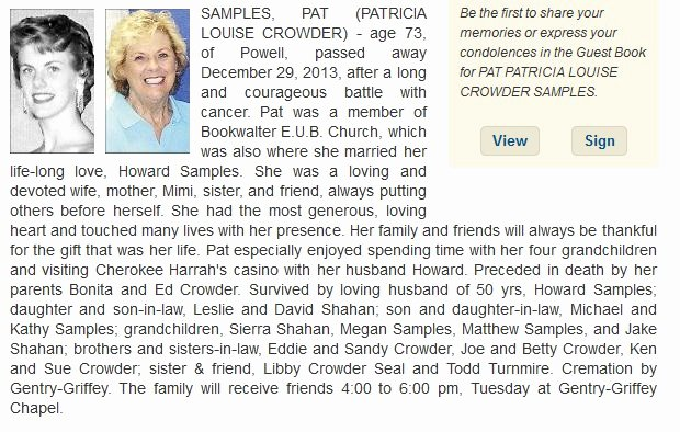 Samples Of Obituaries for Mother Lovely News Page