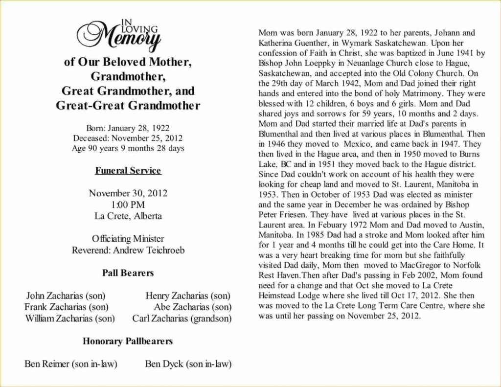Samples Of Obituaries for Mother Luxury 10 11 Sample Newspaper Obituaries