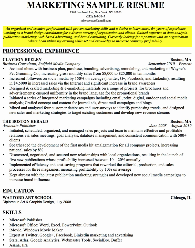 Samples Of Objective On Resume Awesome How to Write A Career Objective A Resume