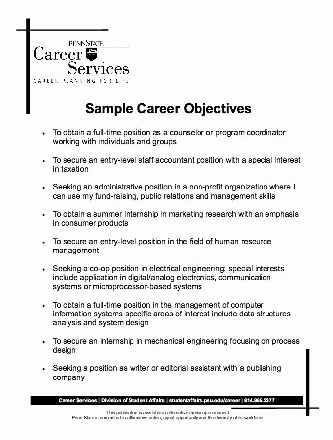 Samples Of Objective On Resume Best Of the 25 Best Career Objectives Samples Ideas On Pinterest