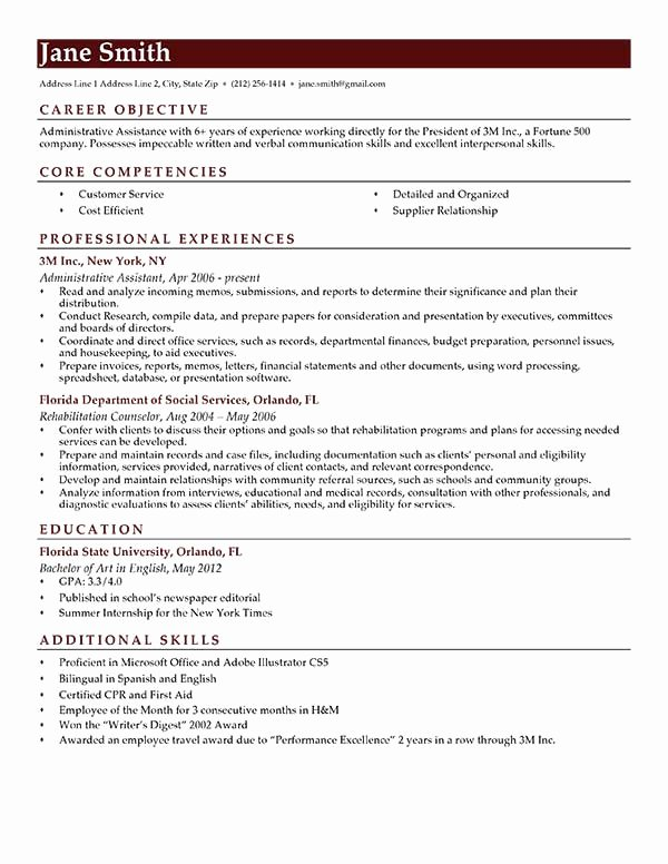 Samples Of Objective On Resume Luxury How to Write A Career Objective