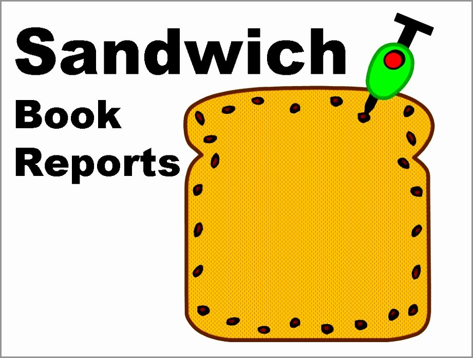 Sandwich Book Report Template Lovely 9 Sandwich Book Report Template Free Wteyo