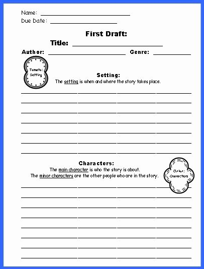 Sandwich Book Report Template Lovely Sandwich Book Report Project Templates Printable