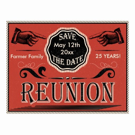 Save the Date Class Reunion Inspirational Class Reunion Save the Date Postcards & Postcard Template