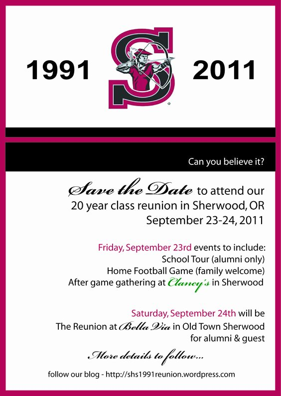 Save the Date Class Reunion Inspirational Save the Date Save the Date Cards and Dates On Pinterest