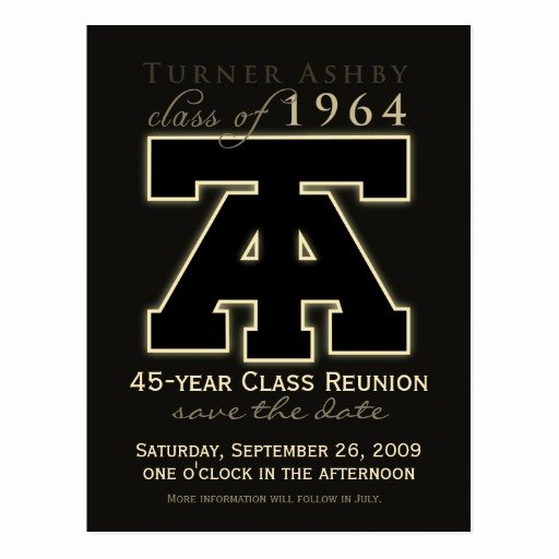Save the Date Class Reunion Lovely Class Reunion Save the Date Announcement Postcard