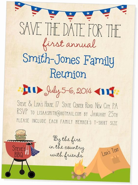 Save the Date Class Reunion Lovely Summer Parties Party Invitations and Invitations On Pinterest