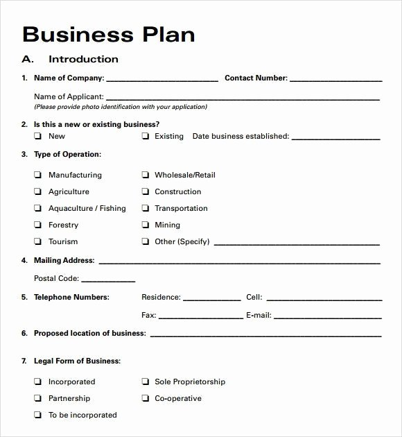 Sba Business Plan Template Awesome Small Business Plan Template