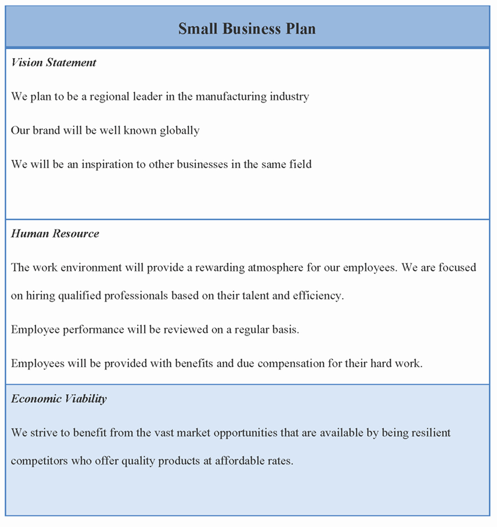 Sba Business Plan Template Unique Business Plan Templates