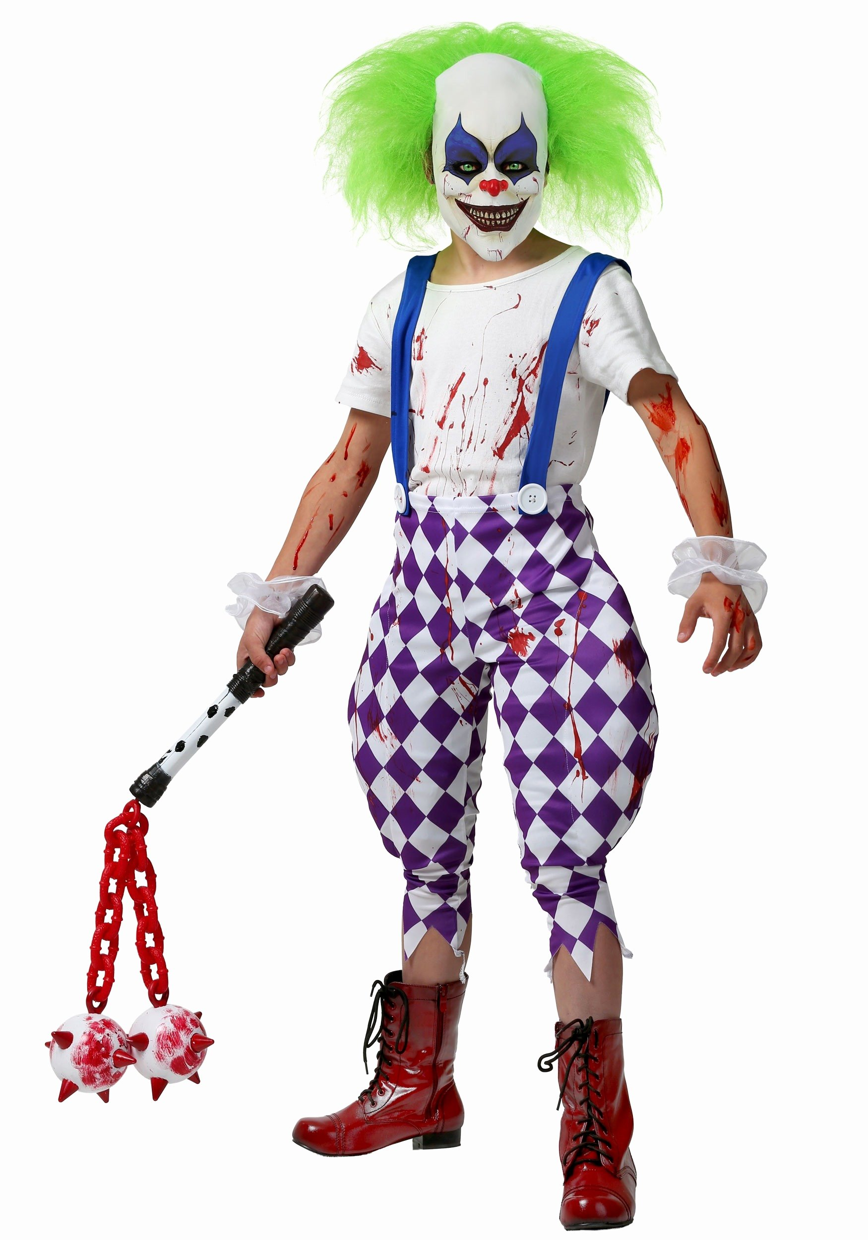 Scary Masks for Kids Best Of Kids Nightmare Clown Costume