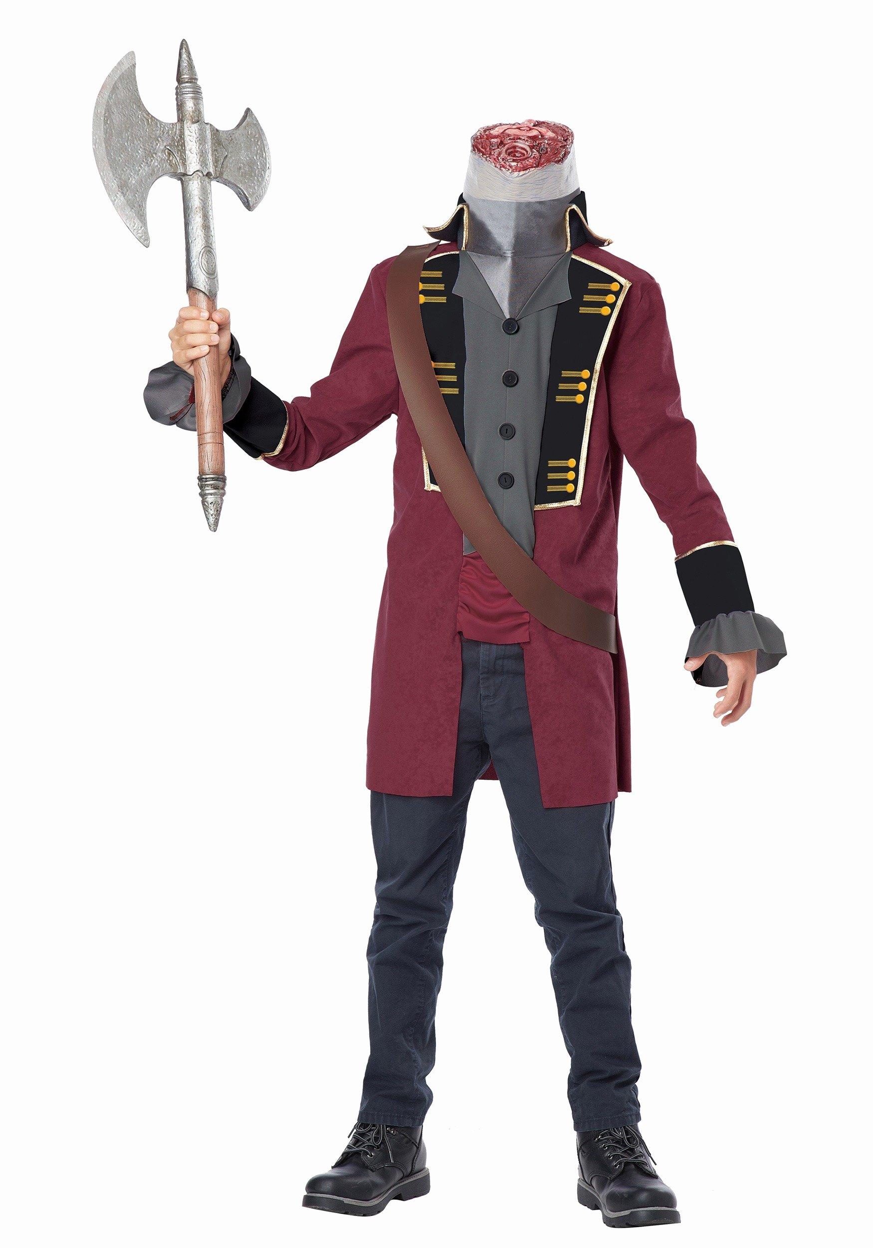 Scary Masks for Kids Elegant Child Sleepy Hollow Headless Horseman Costume