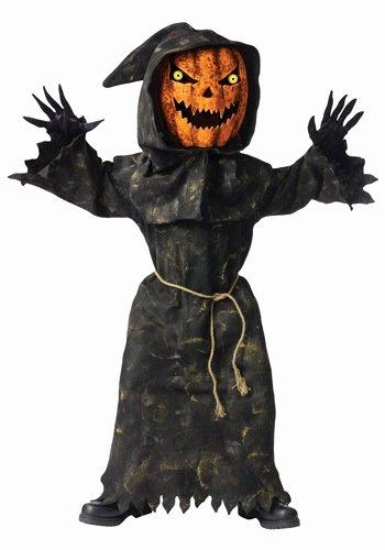 Scary Masks for Kids Elegant Kids Bobble Eyes Pumpkin Costume