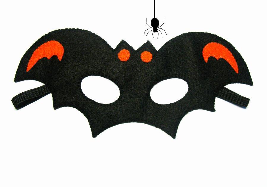 Scary Masks for Kids Fresh Bat Kids Halloween Mask orange and Black Childrens Costume