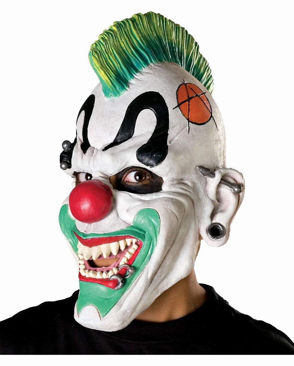 Scary Masks for Kids Fresh Punk Clown Mask Halloween Horror Clown Mask