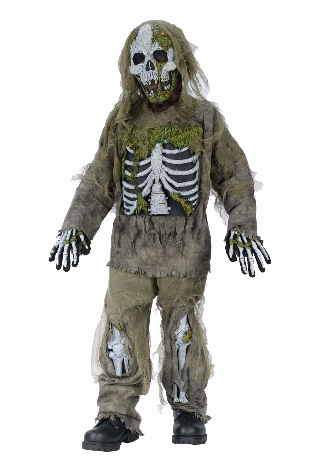 Scary Masks for Kids Lovely Boy S Skeleton Zombie Costume Kids Costumes
