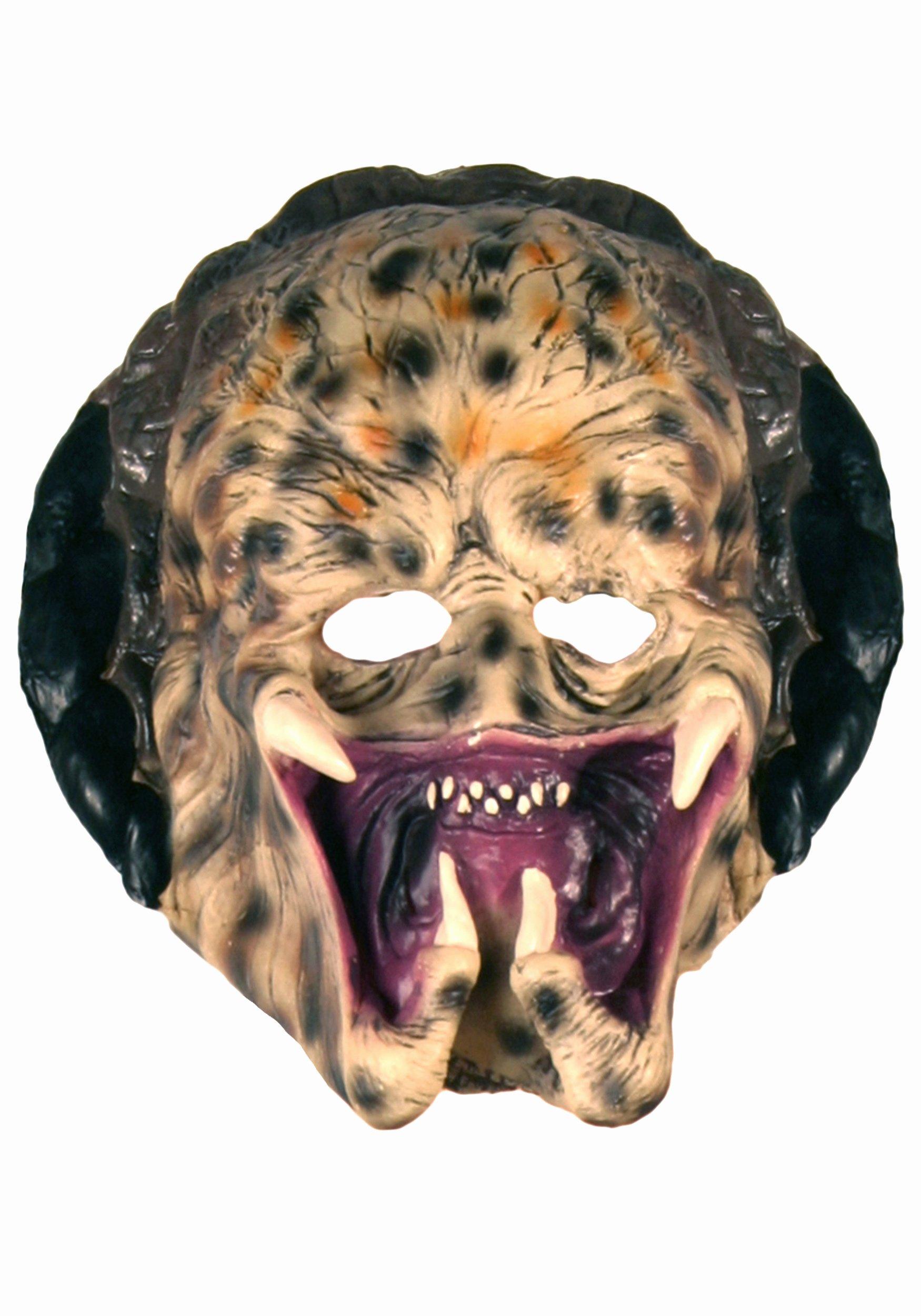 Scary Masks for Kids Lovely Kids Vinyl Predator Mask