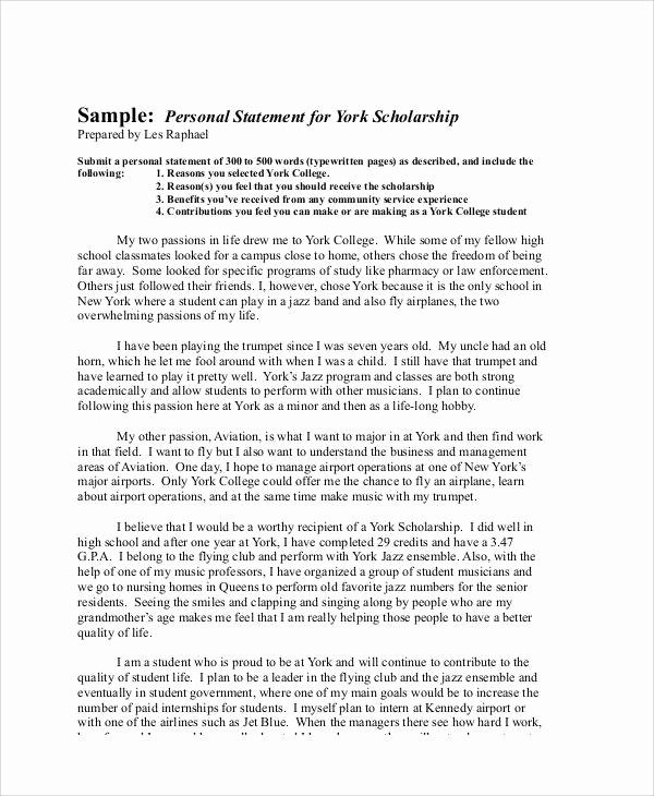 Scholarship Application Essay Sample New Sample Scholarship Application Essay 6 Examples In Word