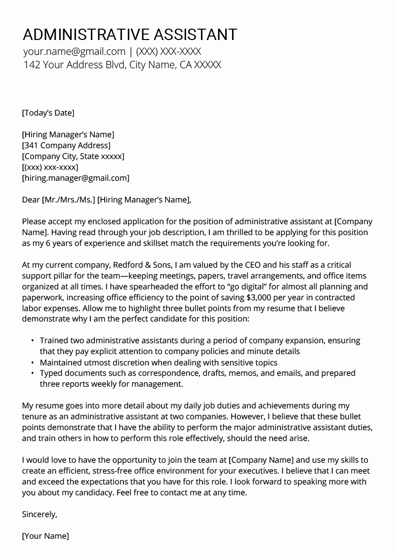 School Administrative assistant Cover Letter Lovely How to Write A Cover Letter Writing A Cover Letter for A